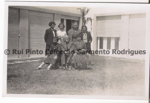 1957 at Sarmento Rodrigues residence