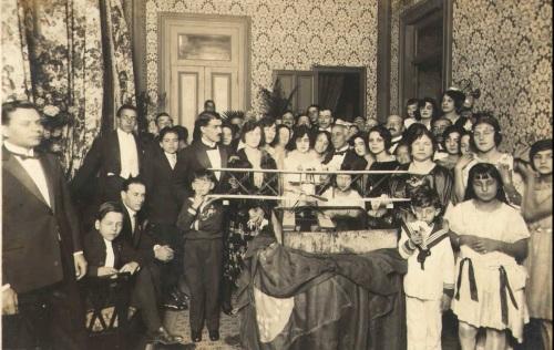 Recepção aos aviadores na sede do Clube Português de São Paulo aos 5/7/1922